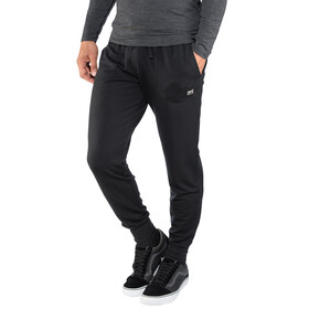 super.natural Essential Cuffed Pants Men Jet Black